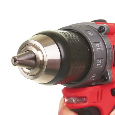 Wiertarko-wkrętarka udarowa akumulatorowa 44Nm M12 FPD-402X MILWAUKEE (nr kat. 4933459804)