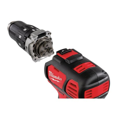 Wiertarko-wkrętarka udarowa akumulatorowa 50 Nm M18 BPD-202C MILWAUKEE (nr kat. 4933443515)