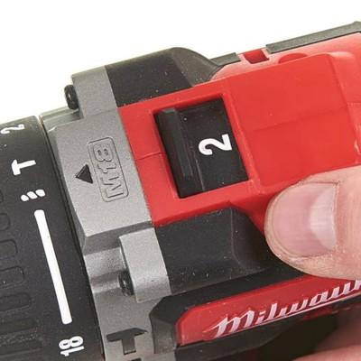 Wiertarko-wkrętarka udarowa akumulatorowa 60Nm M18 CBLPD-402C MILWAUKEE (nr kat. 4933464537)