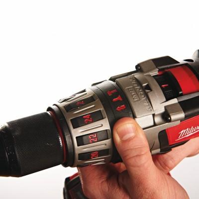 Wiertarko-wkrętarka udarowa akumulatorowa 90Nm HD28 PD-502C MILWAUKEE (nr kat. 4933448543)