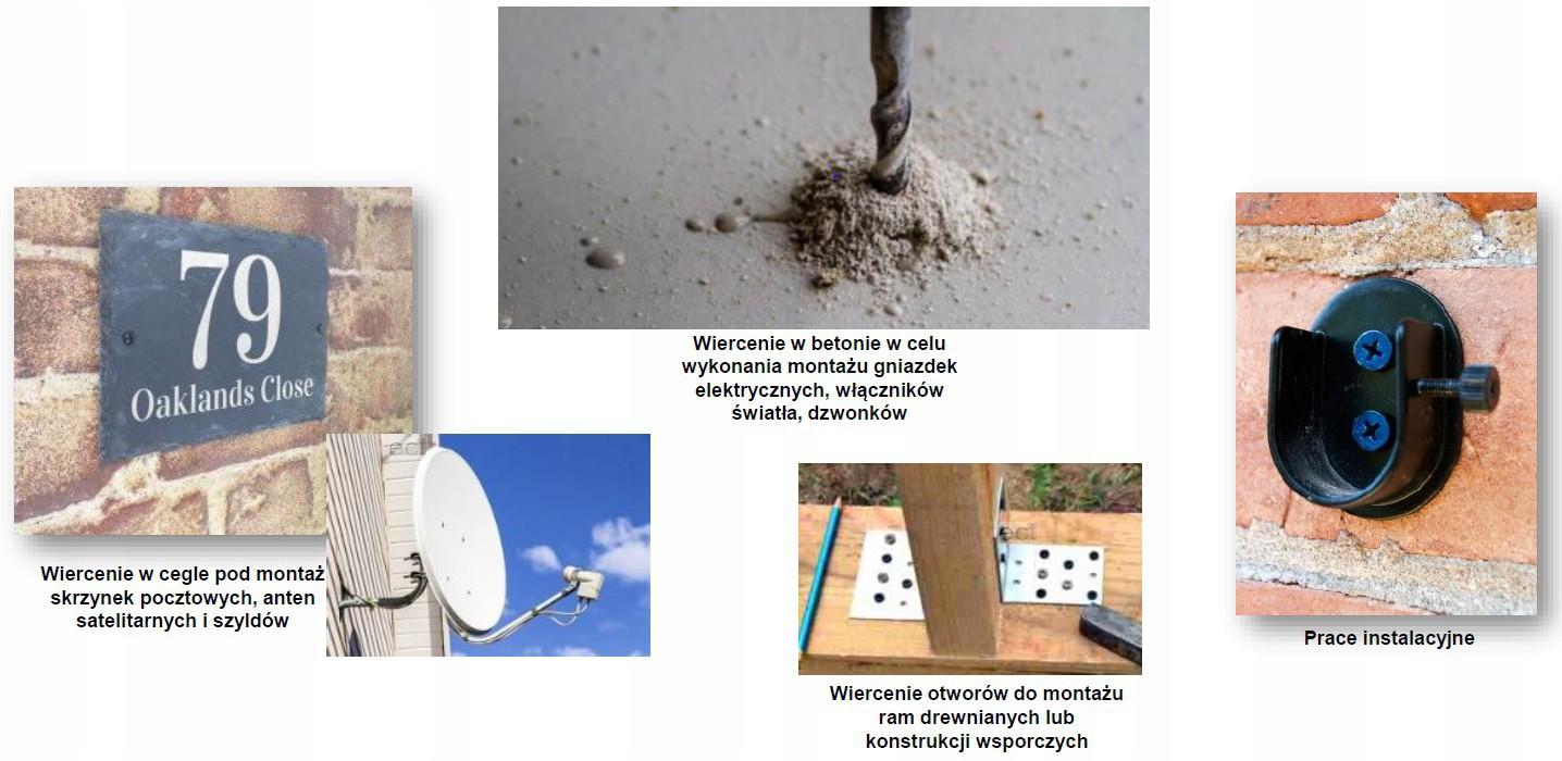 Wiertło do betonu zestaw 8 szt. PREMIUM MILWAUKEE (nr kat. 4932471193)