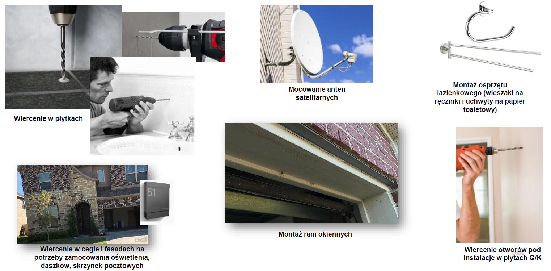 Wiertło uniwersalne udarowe fi 6,5x200 mm Shockwave MILWAUKEE (nr kat. 4932471101)