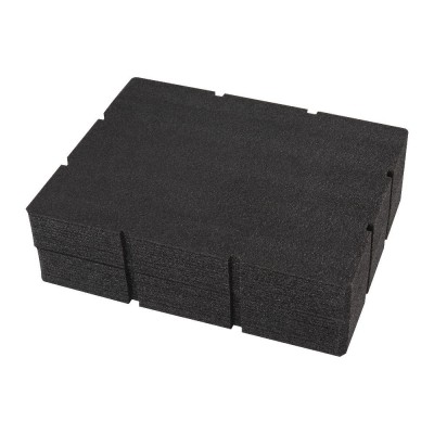 Wkłady piankowe do skrzyni PACKOUT™ z 2 lub 3 szufladami Milwaukee (nr kat. 4932479157)