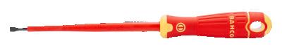 Wkrętak izolowany VDE Płaski 2,5 x 75 mm Fit Bahco (nr kat. B196.025.075)