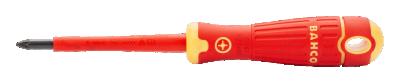 Wkrętak izolowany VDE Pozidriv PZ2 x 100 mm Fit Bahco (nr kat. B142.002.100)