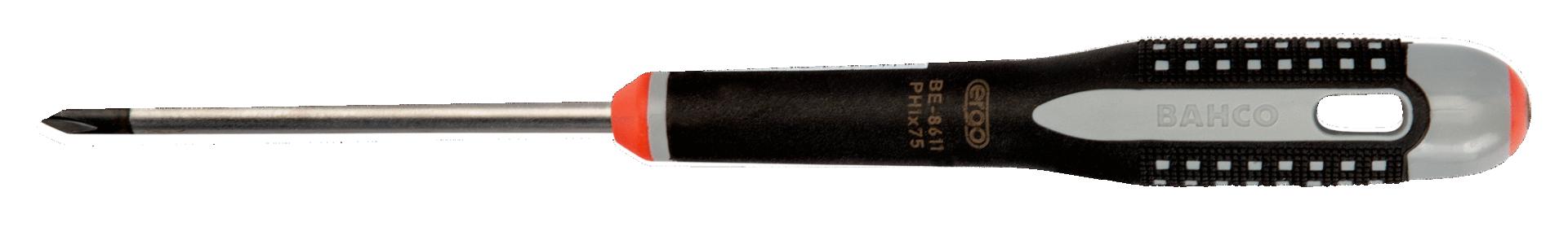 Wkrętak Phillips PH0 x 100 mm Ergo Bahco (nr kat. BE-8605)