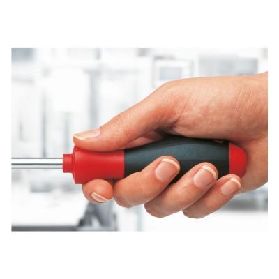 Wkrętak płaski SoftFinish 6,5 mm x 100 mm WIHA (nr kat. 00704)