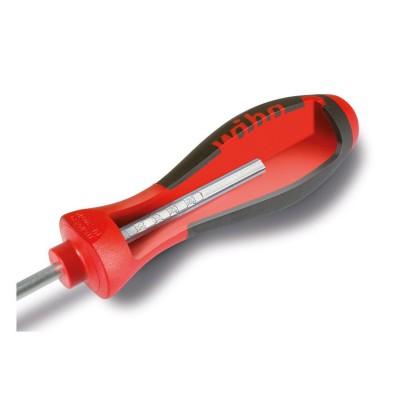 Wkrętak płaski z podziałką milimetrową 4,0 mm x 100 mm SoftFinish WIHA (nr kat. 36085)