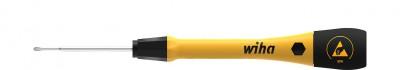 Wkrętak precyzyjny antystatyczny Phillips ESD PH1 x 60 mm PicoFinish WIHA (nr kat. 43678)