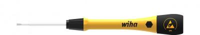 Wkrętak precyzyjny antystatyczny płaski ESD 3,5 x 60 mm PicoFinish WIHA (nr kat. 43673)