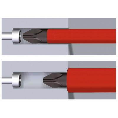 Wkrętak VDE Phillips PH2 x 100 mm SoftFinish slimFix WIHA (nr kat. 35394)