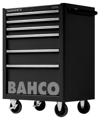 Wózek warsztatowy 6 szuflad Bahco (nr kat. 1475K6BLACK)