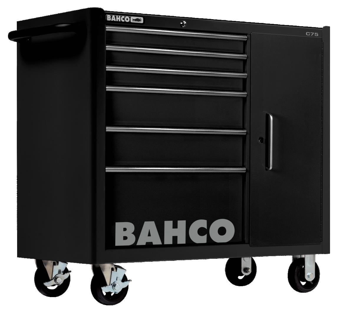 Wózek warsztatowy 6 szuflad Bahco (nr kat. 1475KXL6CBLACK)