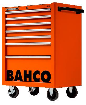 Wózek warsztatowy 7 szuflad Bahco (nr kat. 1475K7)