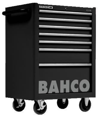 Wózek warsztatowy 7 szuflad Bahco (nr kat. 1475K7BLACK)
