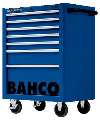 Wózek warsztatowy 7 szuflad Bahco (nr kat. 1475K7BLUE)