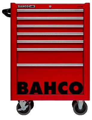 Wózek warsztatowy 7 szuflad Bahco (nr kat. 1475K7RED)