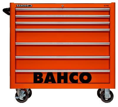 Wózek warsztatowy 7 szuflad Bahco (nr kat. 1475KXL7)