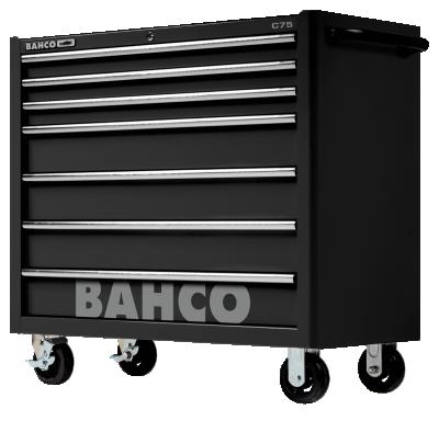 Wózek warsztatowy 7 szuflad Bahco (nr kat. 1475KXL7BLACK)