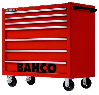 Wózek warsztatowy 7 szuflad Bahco (nr kat. 1475KXL7RED)