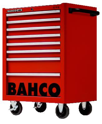 Wózek warsztatowy 8 szuflad Bahco (nr kat. 1475K8RED)