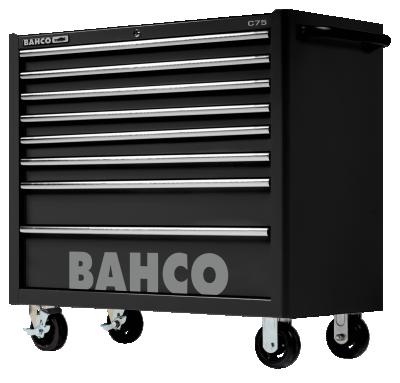 Wózek warsztatowy 8 szuflad Bahco (nr kat. 1475KXL8BLACK)