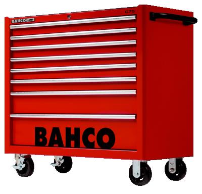 Wózek warsztatowy 8 szuflad Bahco (nr kat. 1475KXL8RED)