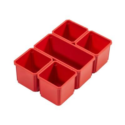 Wyjmowane pojemniki pasujące do organizera PACKOUT™ dużego i średniego MILWAUKEE (nr kat. 4932478300)