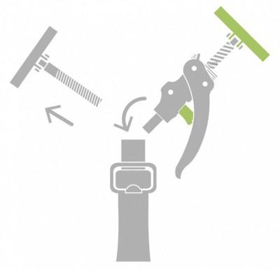 Wymienne ramię sprężynowe ARM+ Piher (nr kat. P34093)