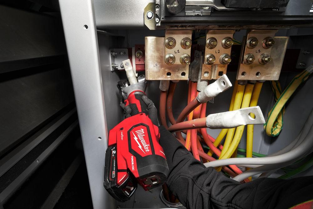 Zaciskarka hydrauliczna bezmatrycowa akumulatorowa M18 HDCT-0C MILWAUKEE (nr kat. 4933471949)