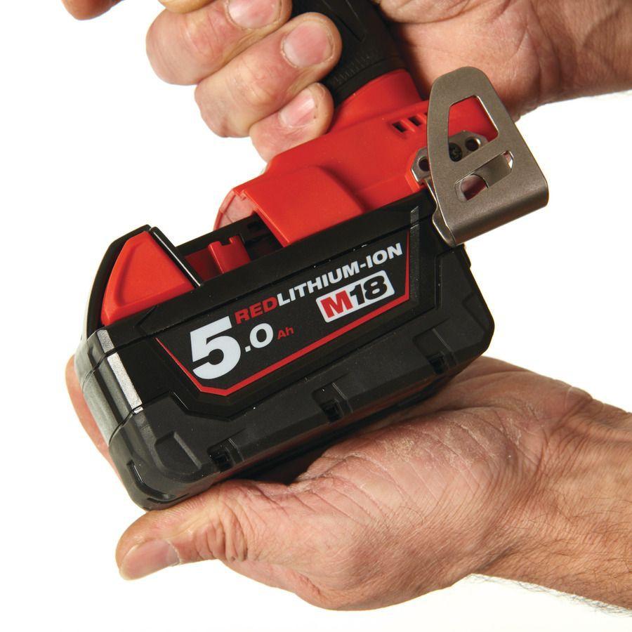 """Zakrętarka udarowa akumulatorowa 1/4"""" HEX 50 Nm M18 FQID-502X MILWAUKEE (nr kat. 4933451790)"""