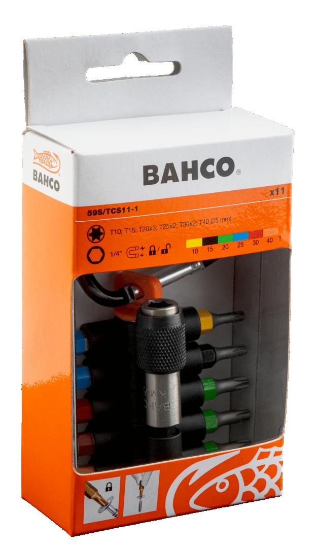 """Zestaw bitów 1/4"""" TORX 11 cz. BAHCO (nr kat. 59S/TCS11-1)"""