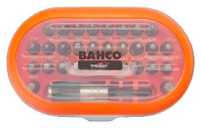 Zestaw bitów 31 el. Bahco (nr kat. 59S/31-1)