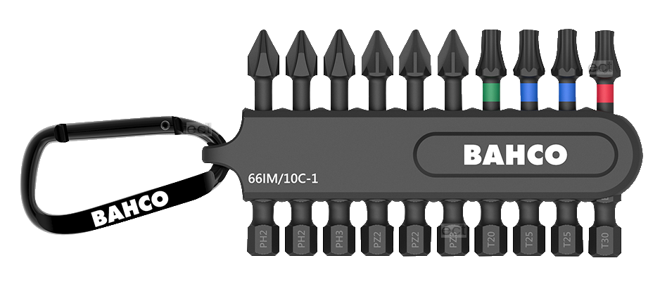 Zestaw bitów udarowych 50 mm Bahco (nr kat. 66IM/10C-1)