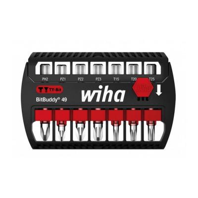 Zestaw bitów udarowych bit TY 49 mm 7szt. BitBuddy WIHA (nr kat. 42116)