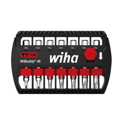 Zestaw bitów udarowych bit TY 49 mm 7szt. BitBuddy WIHA (nr kat. 42118)