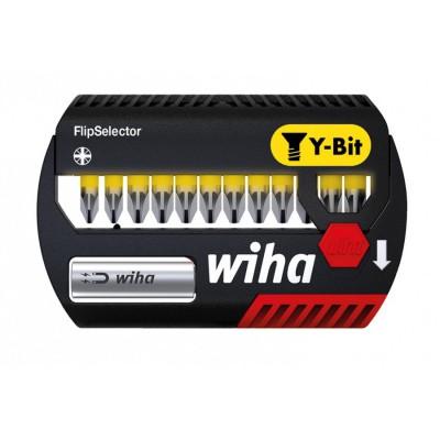 Zestaw bitów udarowych Y 25 mm 13szt. FlipSelector WIHA (nr kat. 41829)