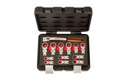 Zestaw kluczy kątowych z grzechotką 8 - 19 mm 12 el. Dynamic-Drive Bahco (nr kat. 42RM/S12)