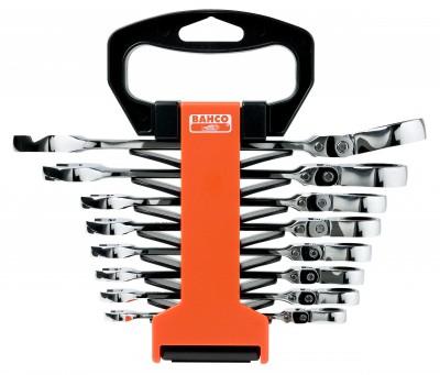 Zestaw kluczy płasko-oczkowych z grzechotką 8 - 10 mm 6 el. Dynamic-Drive Bahco (nr kat. 1RM/SH6)