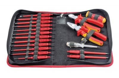 Zestaw narzędzi w etui 19 szt. FELO (nr kat. 06391904)