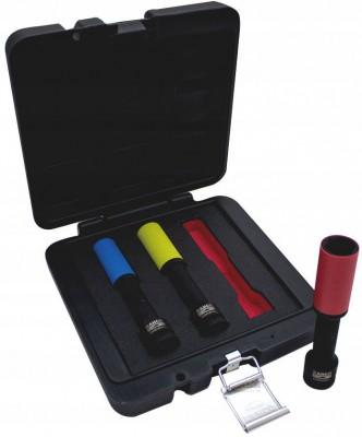 Zestaw nasadek udarowych wydłużonych 1/2'' do felg aluminiowych 3 szt. Bahco (nr kat. BWSS12P3L)