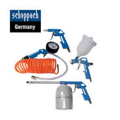Zestaw osprzętu pneumatycznego 5-częściowy SCHEPPACH (nr kat. SCH3906101704)