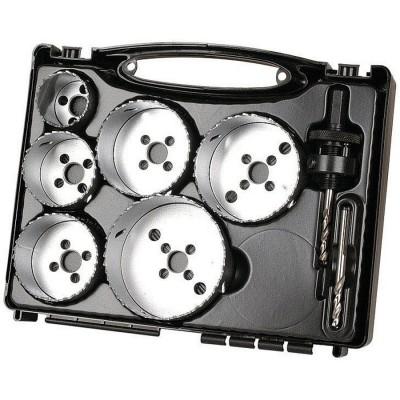 Zestaw otwornic BiM 40 - 86 mm do instalacji elektrycznych WOLFCRAFT (nr kat. 5423000)
