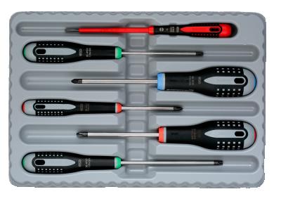 Zestaw wkrętaków 6 szt. Ergo BAHCO (nr kat. BE-9871)