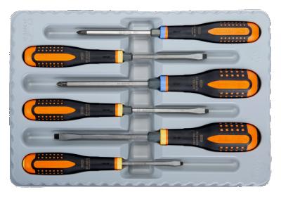 Zestaw wkrętaków przelotowych ERGO Bahco (nr kat. BE-9882TB)