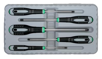 Zestaw wkrętaków TORX 5 szt. Ergo BAHCO (nr kat. BE-9885)