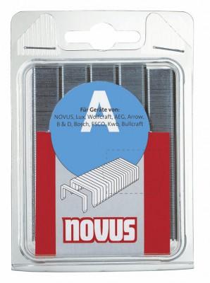 Zszywki typ A 53/10 INOX 1000 szt. NOVUS (nr kat. NV042-0458)